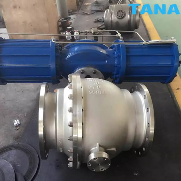 api 6d trunnion mounted ball valve China