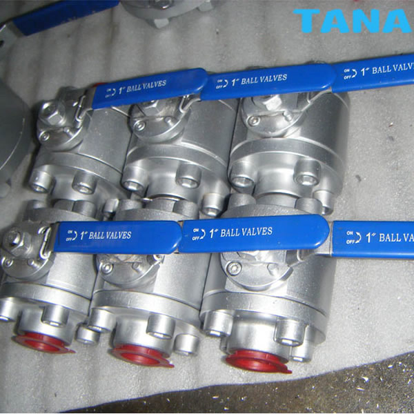3pc npt thread end 800lb ball valve