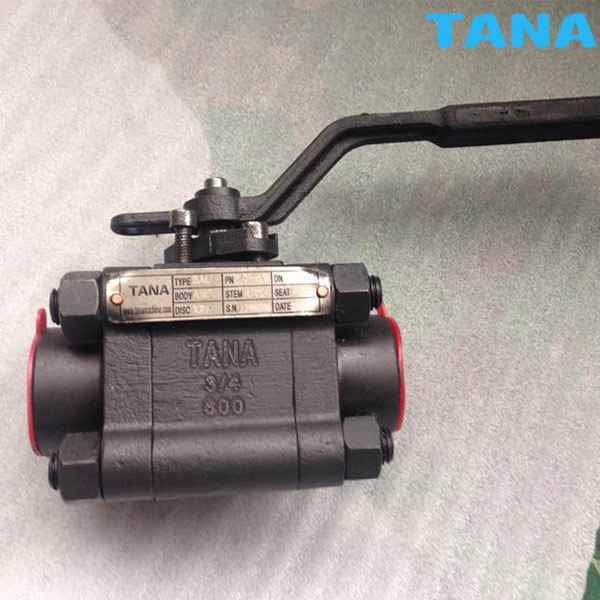 3 piece Forged floating Ball Valve