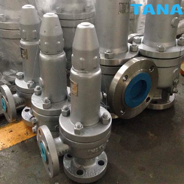 Spring-loaded safety relief valve
