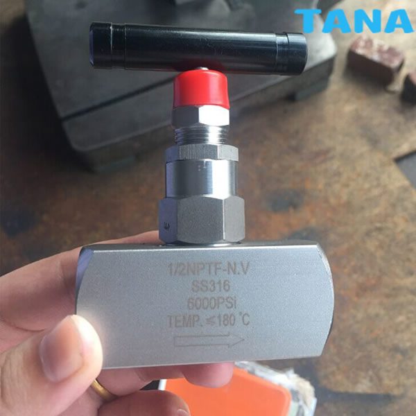High Pressure Threaded Needle Valve