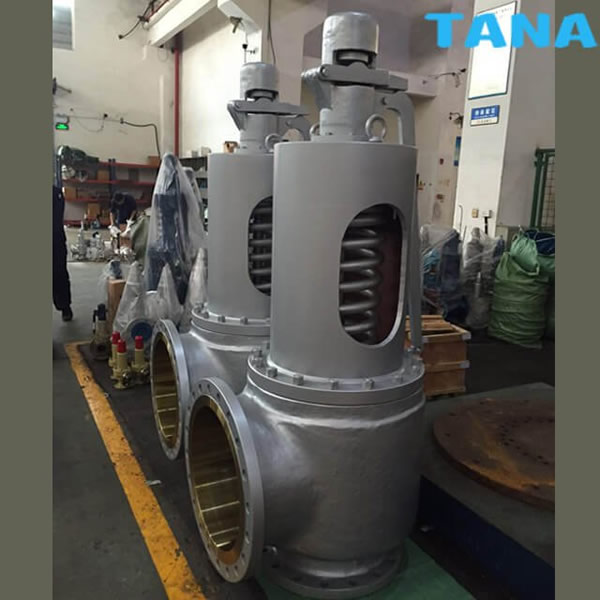 spring loaded safety relief valve dimension China